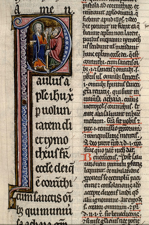 Paris, Bibl. Mazarine, ms. 0143, f. 105