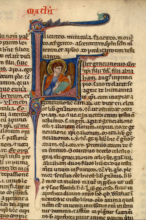 Paris, Bibl. Mazarine, ms. 0151, f. 012