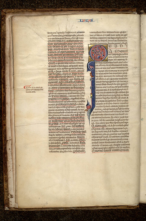 Paris, Bibl. Mazarine, ms. 0153, f. 003v