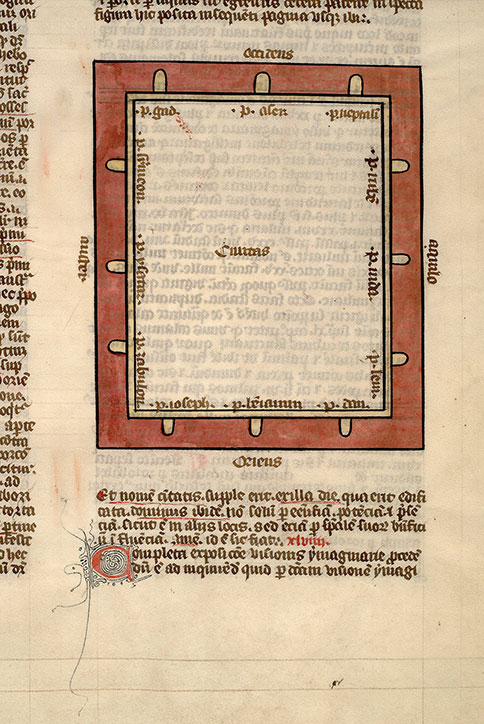 Paris, Bibl. Mazarine, ms. 0158, f. 132