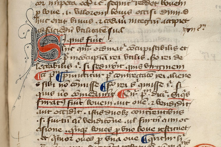 Paris, Bibl. Mazarine, ms. 0160, f. 092