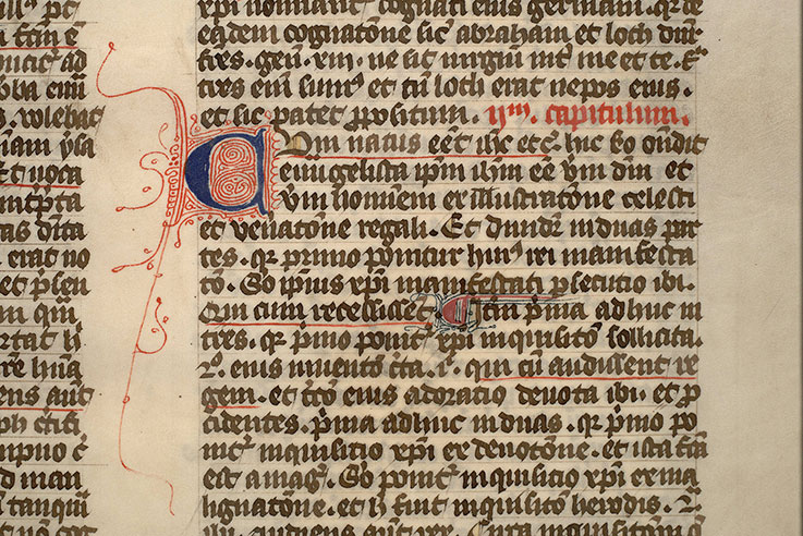 Paris, Bibl. Mazarine, ms. 0167, f. 006