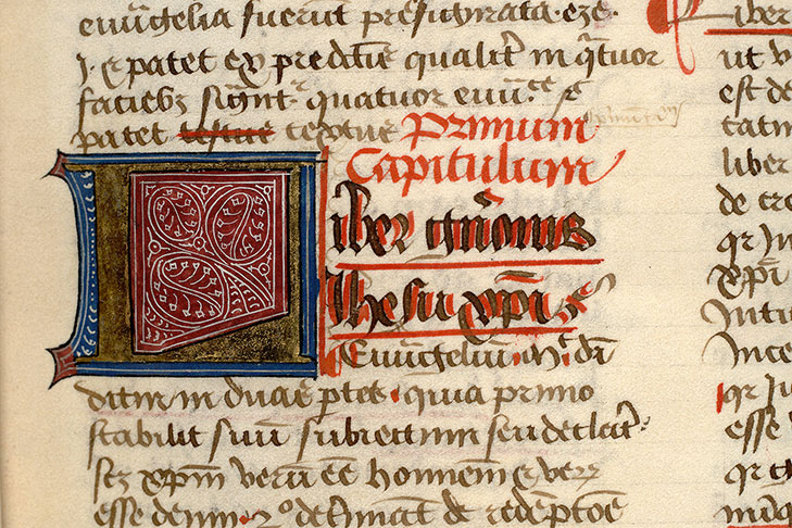 Paris, Bibl. Mazarine, ms. 0172, f. 006