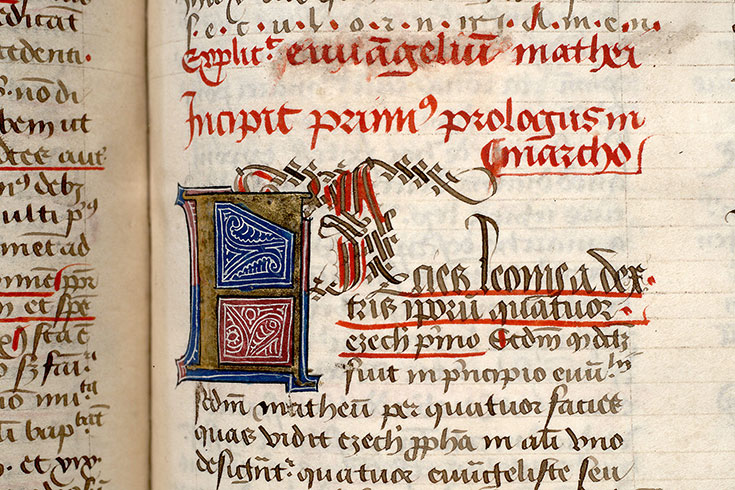 Paris, Bibl. Mazarine, ms. 0172, f. 108