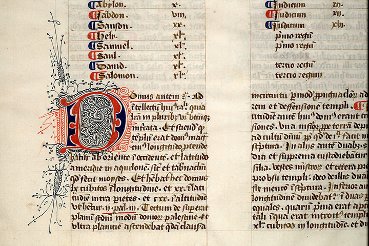 Paris, Bibl. Mazarine, ms. 0182, f. 061