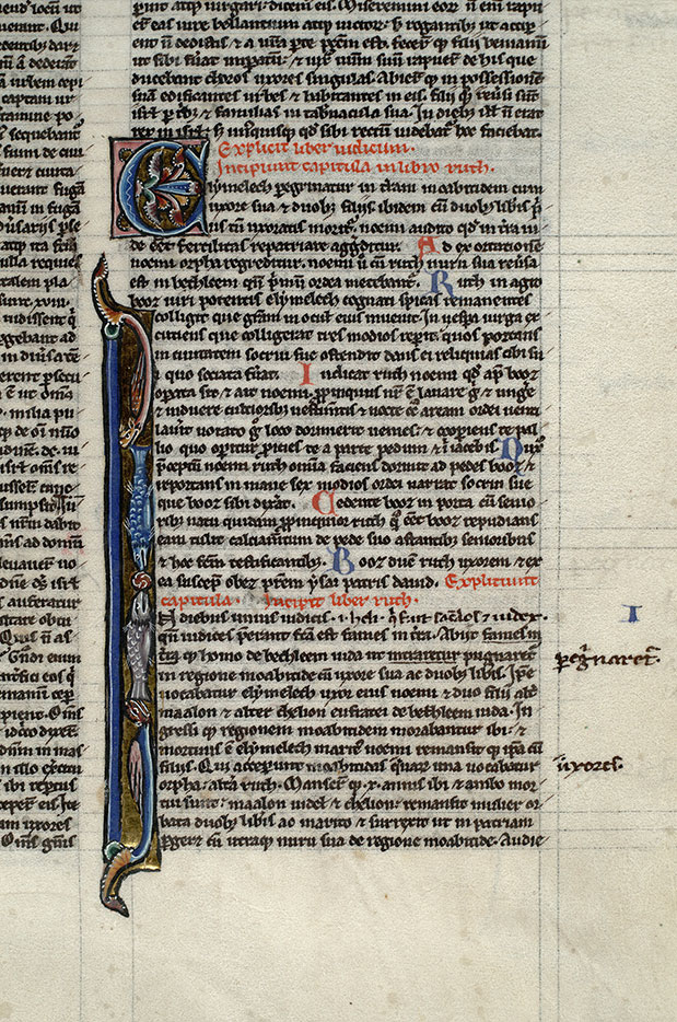 Paris, Bibl. Mazarine, ms. 0012, f. 052
