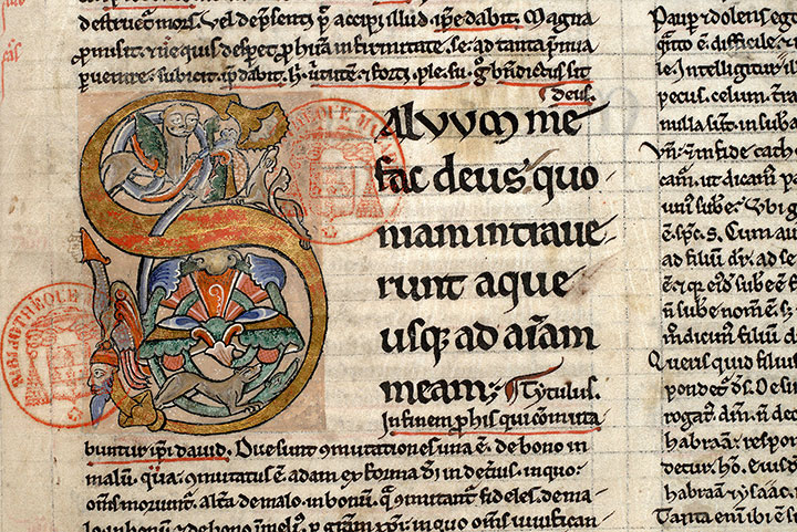 Paris, Bibl. Mazarine, ms. 0205, f. 089