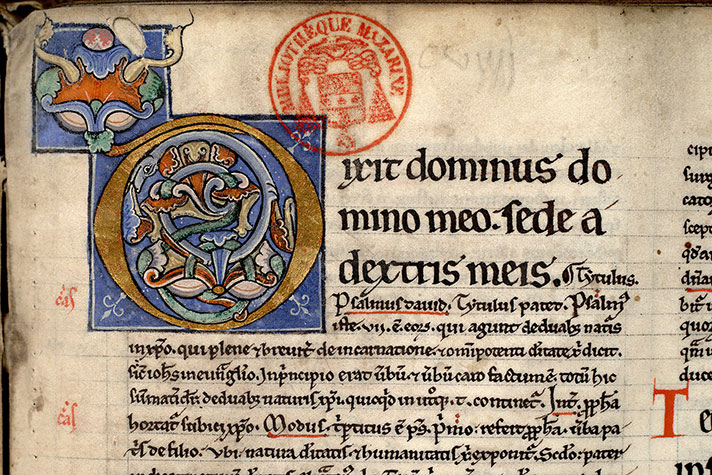 Paris, Bibl. Mazarine, ms. 0205, f. 143