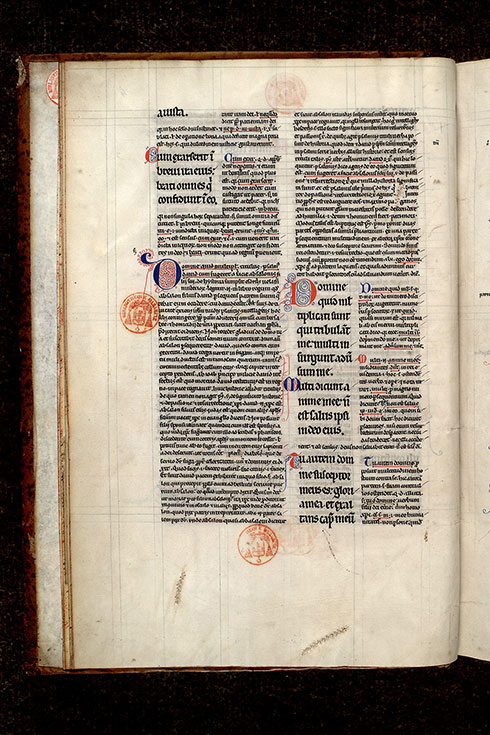Paris, Bibl. Mazarine, ms. 0208, f. 004v