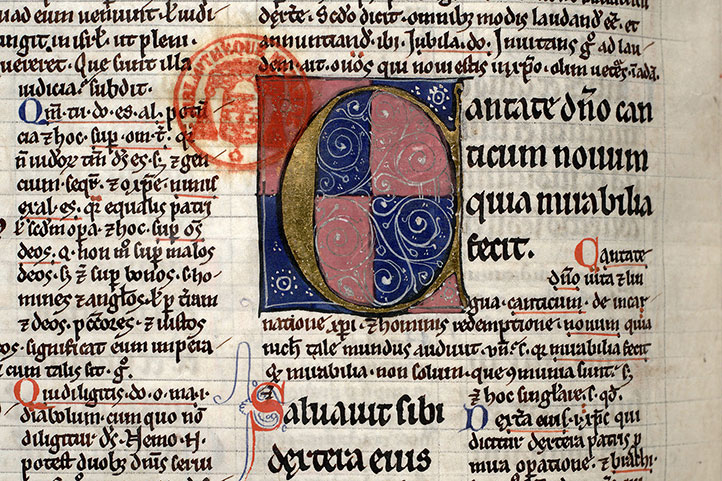 Paris, Bibl. Mazarine, ms. 0208, f. 161v