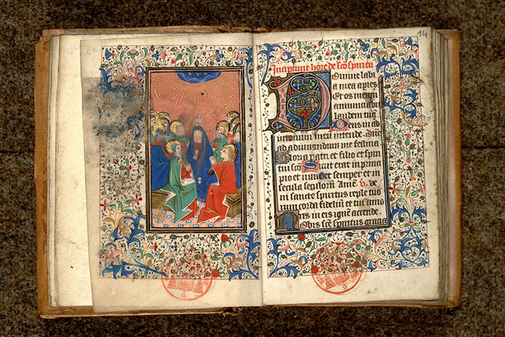Paris, Bibl. Mazarine, ms. 0467, f. 013v-014