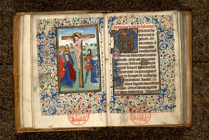 Paris, Bibl. Mazarine, ms. 0467, f. 017v-018