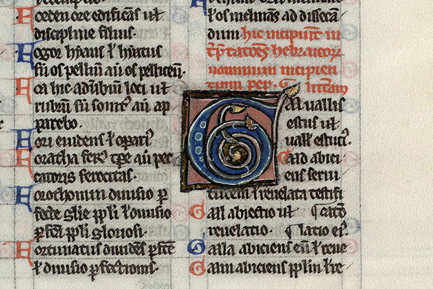 Paris, Bibl. Mazarine, ms. 0015, f. 484