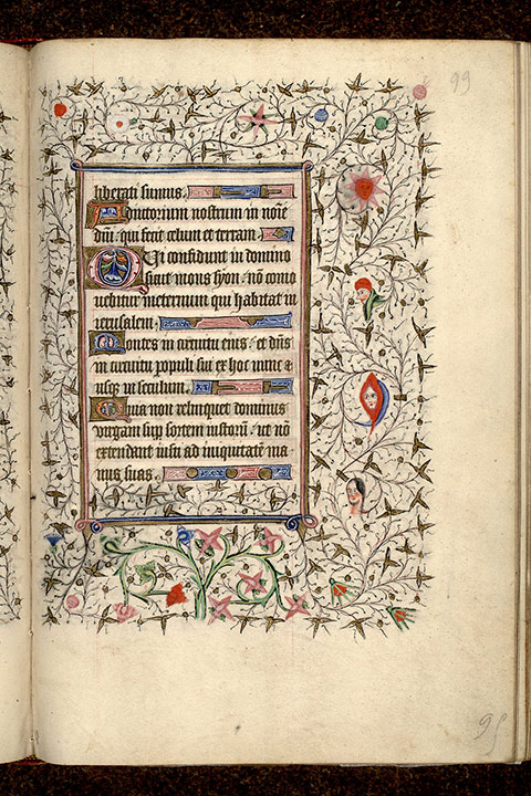 Paris, Bibl. Mazarine, ms. 0469, f. 099