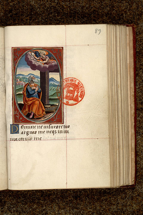 Paris, Bibl. Mazarine, ms. 0472, f. 089