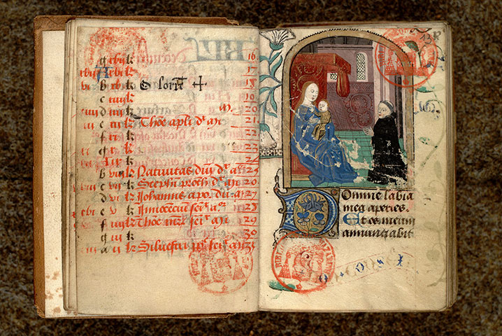Paris, Bibl. Mazarine, ms. 0475, f. 012v-013