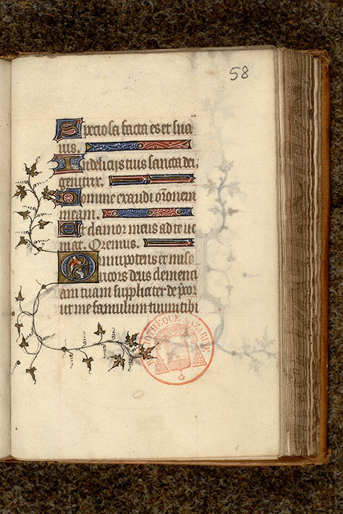 Paris, Bibl. Mazarine, ms. 0477, f. 058
