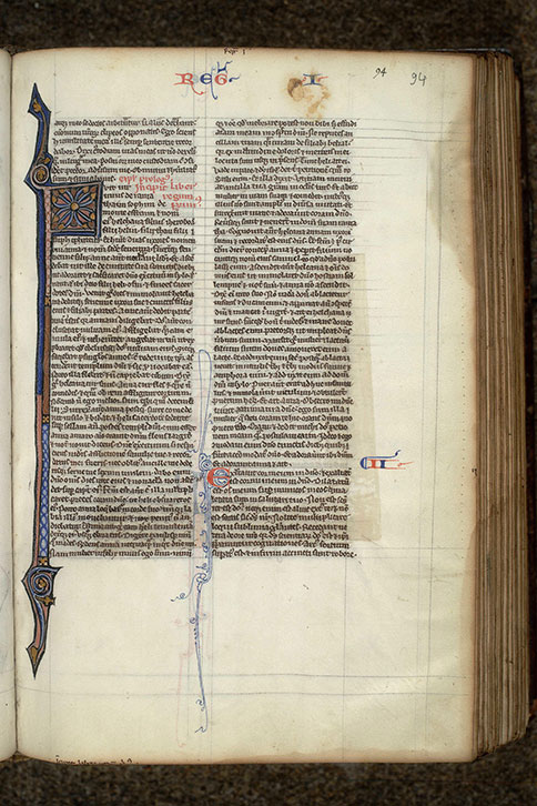 Paris, Bibl. Mazarine, ms. 0016, f. 094