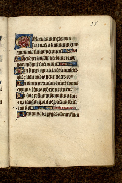 Paris, Bibl. Mazarine, ms. 0481, f. 025