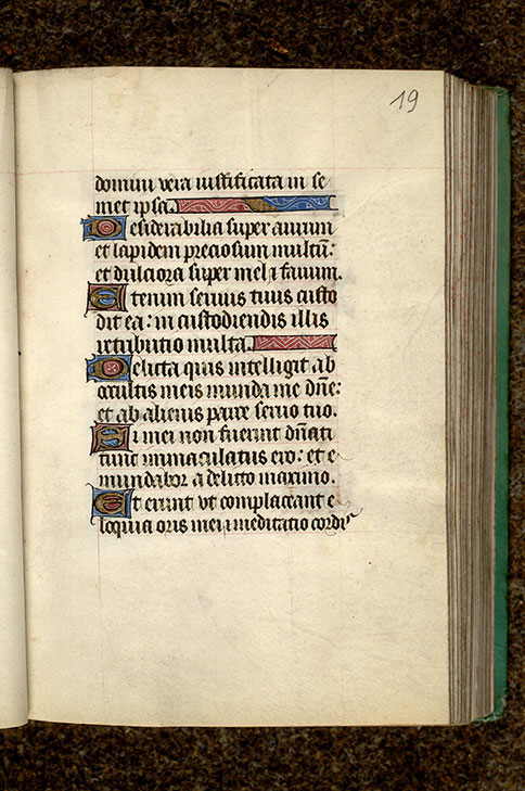 Paris, Bibl. Mazarine, ms. 0487, f. 019