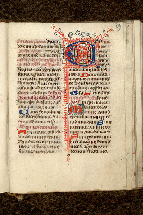 Paris, Bibl. Mazarine, ms. 0492, f. 039