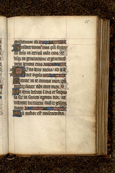 Paris, Bibl. Mazarine, ms. 0493, f. 026