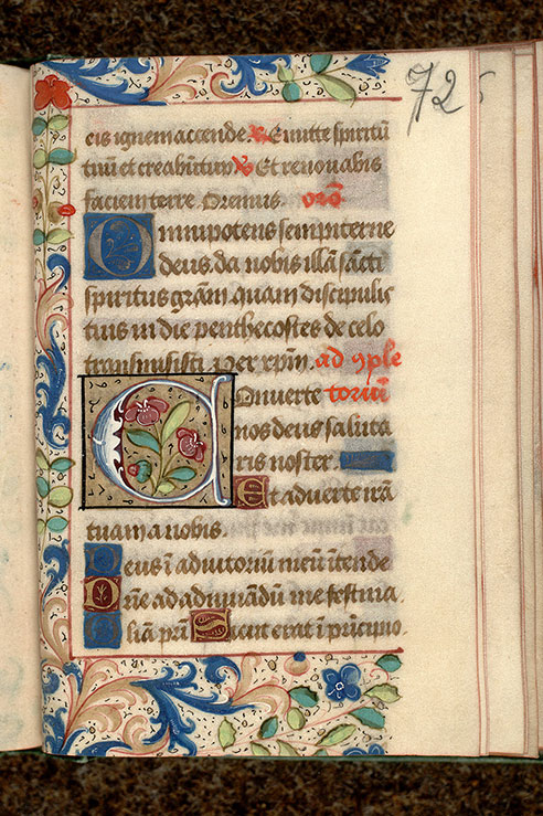 Paris, Bibl. Mazarine, ms. 0499, f. 072