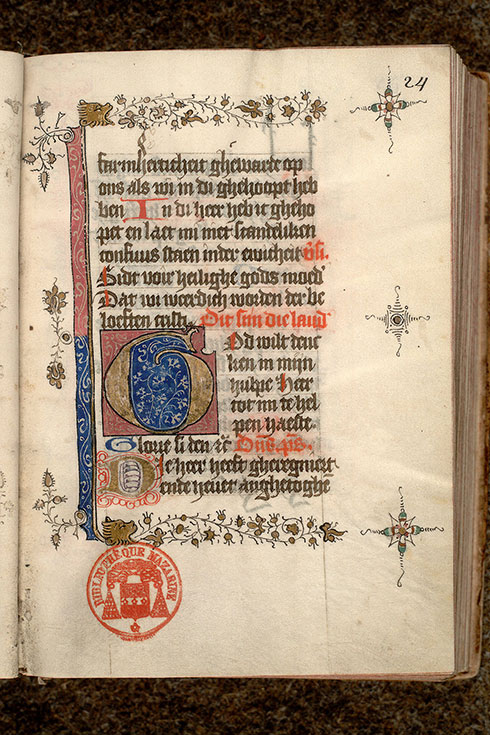 Paris, Bibl. Mazarine, ms. 0500, f. 024