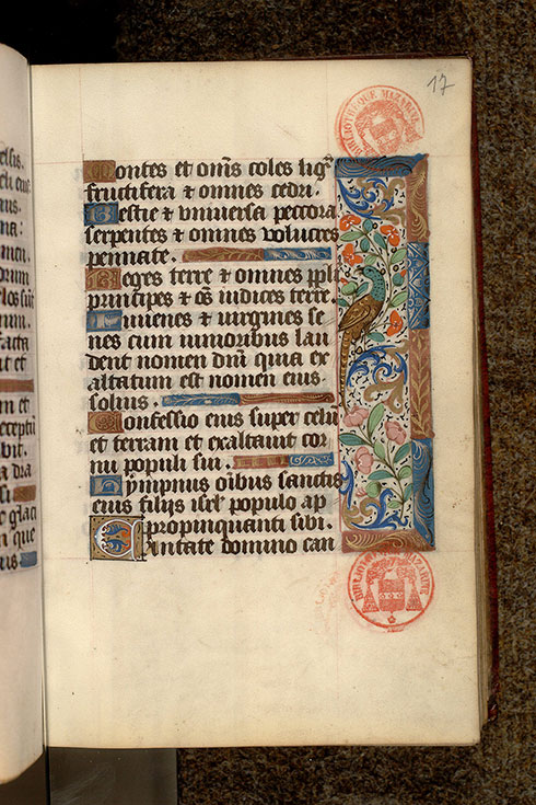 Paris, Bibl. Mazarine, ms. 0501, f. 017