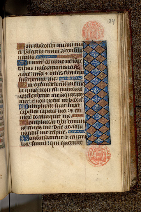 Paris, Bibl. Mazarine, ms. 0501, f. 084