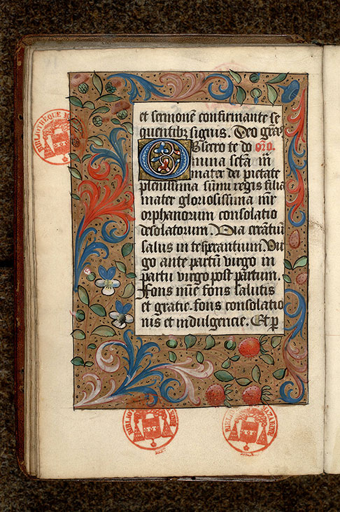Paris, Bibl. Mazarine, ms. 0504, f. 018v