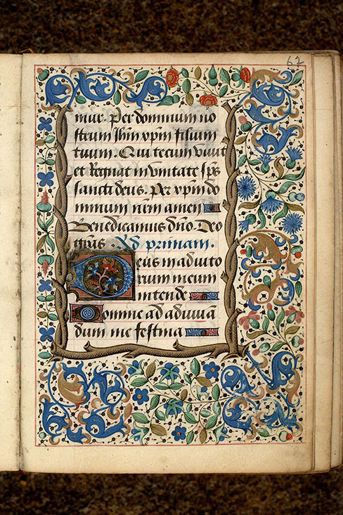 Paris, Bibl. Mazarine, ms. 0511, f. 067