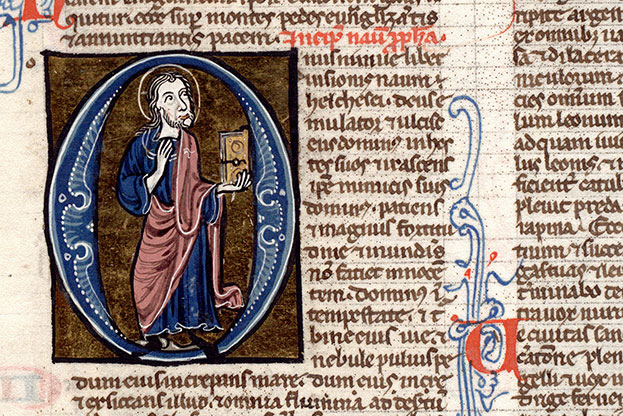 Paris, Bibl. Mazarine, ms. 0018, f. 270