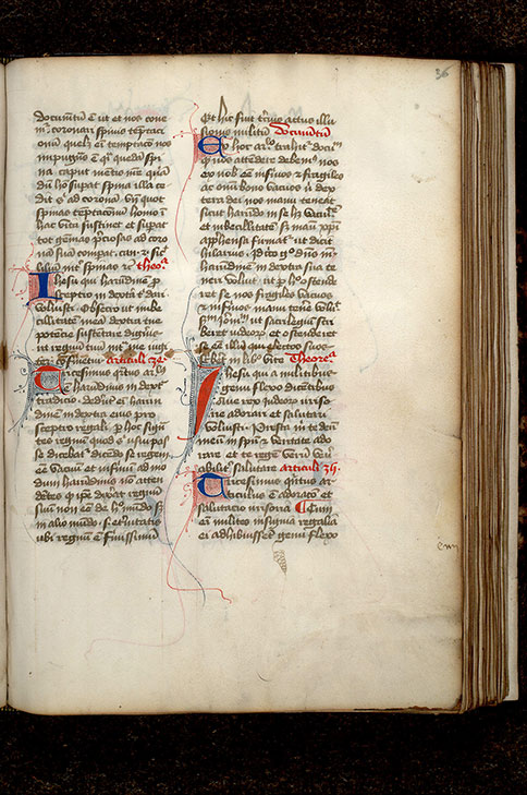 Paris, Bibl. Mazarine, ms. 0253, f. 036