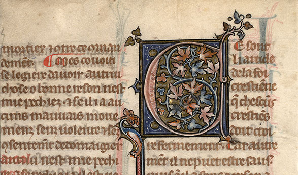 Paris, Bibl. Mazarine, ms. 0870, f. 004v