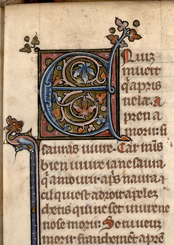 Paris, Bibl. Mazarine, ms. 0870, f. 045