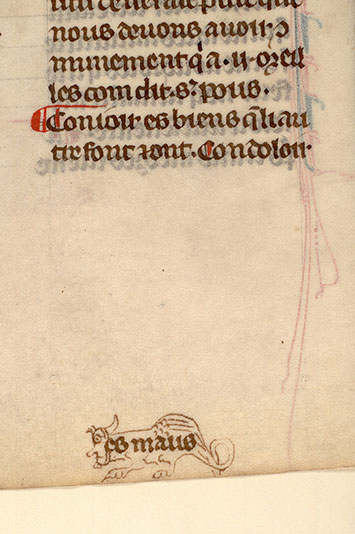Paris, Bibl. Mazarine, ms. 0870, f. 100v