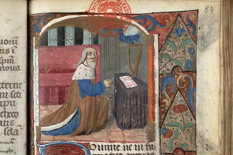 Paris, Bibl. Mazarine, ms. 0508, f. 084