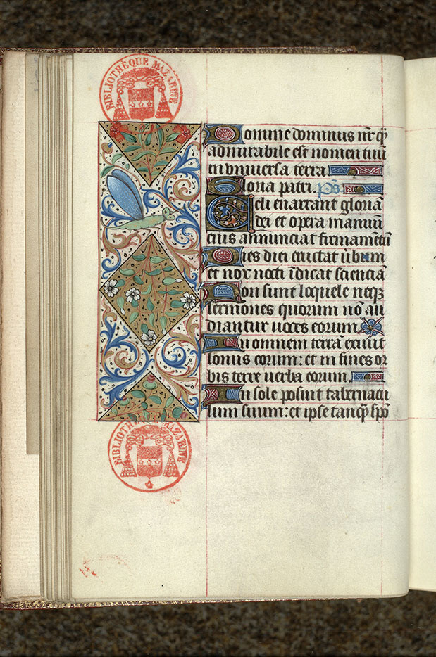 Paris, Bibl. Mazarine, ms. 0483, f. 025v