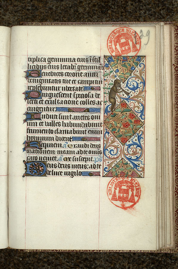 Paris, Bibl. Mazarine, ms. 0483, f. 129