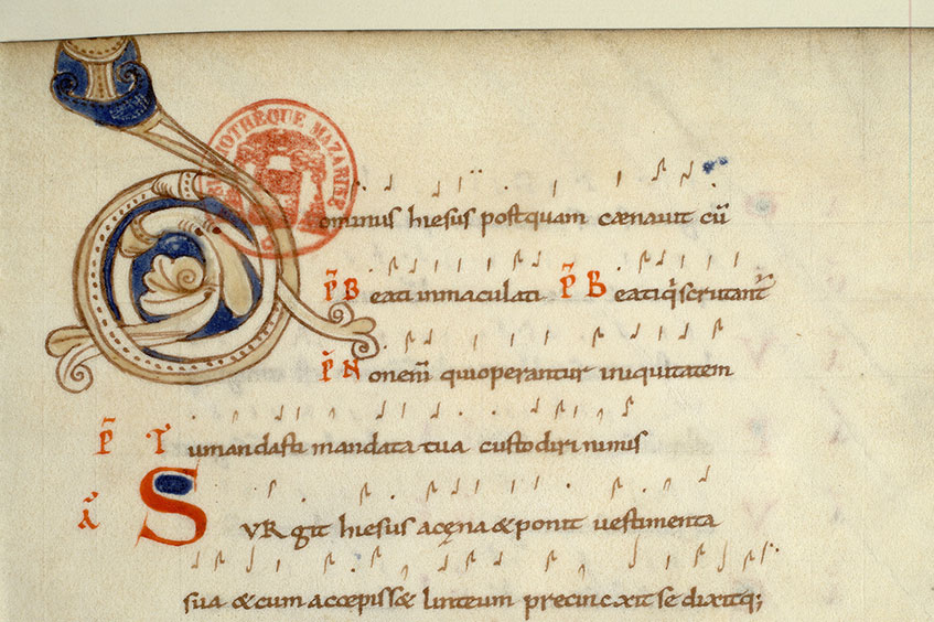 Paris, Bibl. Mazarine, ms. 0384, f. 068
