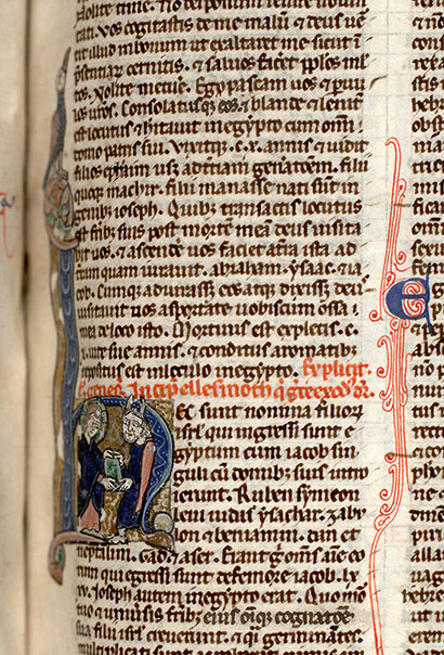 Paris, Bibl. Mazarine, ms. 0020, f. 021