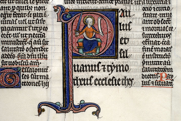 Paris, Bibl. Mazarine, ms. 0264, f. 205