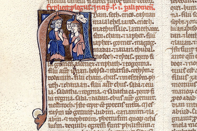 Paris, Bibl. Mazarine, ms. 0020, f. 137v