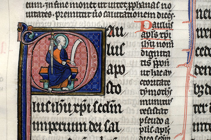 Paris, Bibl. Mazarine, ms. 0264, f. 218