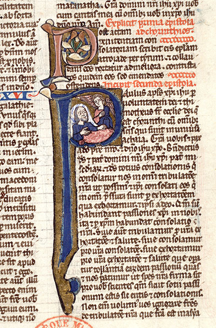 Paris, Bibl. Mazarine, ms. 0020, f. 409