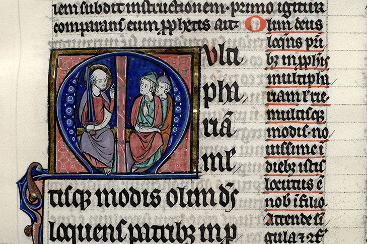Paris, Bibl. Mazarine, ms. 0264, f. 243