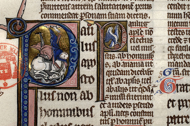 Paris, Bibl. Mazarine, ms. 0266, f. 164