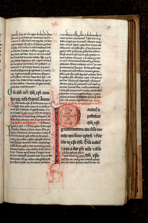 Paris, Bibl. Mazarine, ms. 0267, f. 028