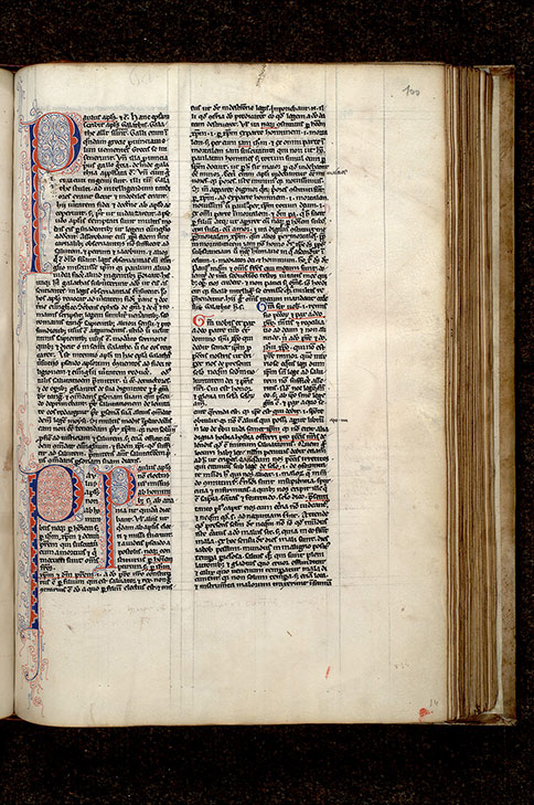Paris, Bibl. Mazarine, ms. 0268, f. 100